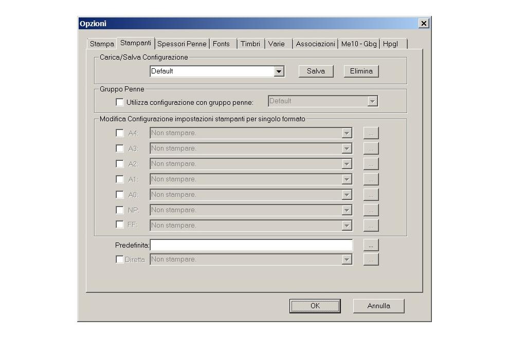 E-View opzioni automazione di stampa