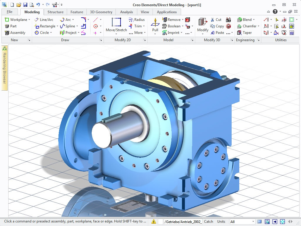 PTC Creo Elements /Direct Modeling
